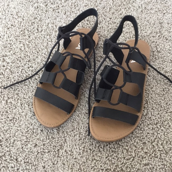 MIA Shoes | Womens Lace Up Sandals